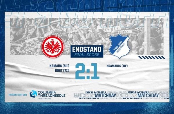 Après la victoire éclatante face au Bayern Munich, Hoffenheim de n'enchaine pas