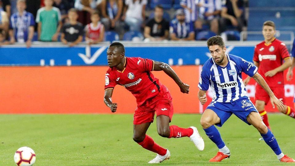 Djene Dakonam et Getafe tenus en échec par le Deportivo Alavès