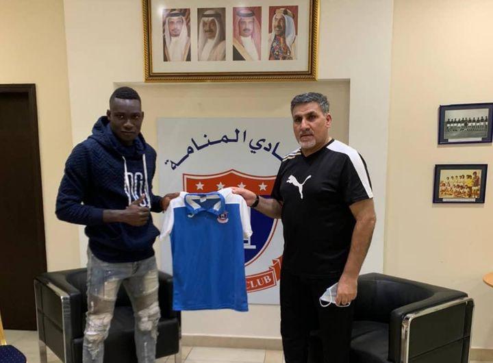 Direction Bahrein pour James Oloufadé