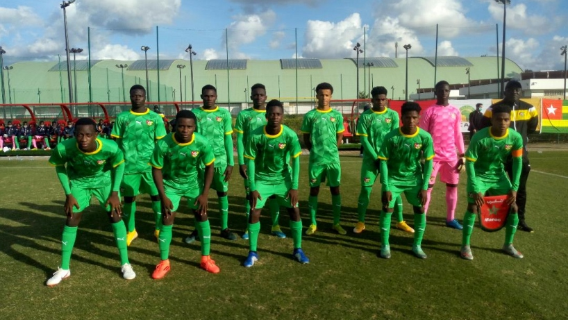 Amical U20 : Une victoire convaincante du Togo face au Maroc
