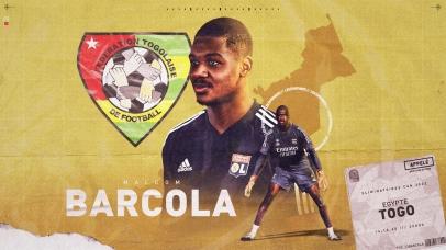 Malcolm Barcola : Le portier consacré Joueur togolais du Week end