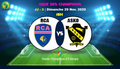 Préliminaires LDC CAF : Voici où suivre le match Racing Club d'Abidjan - Asko