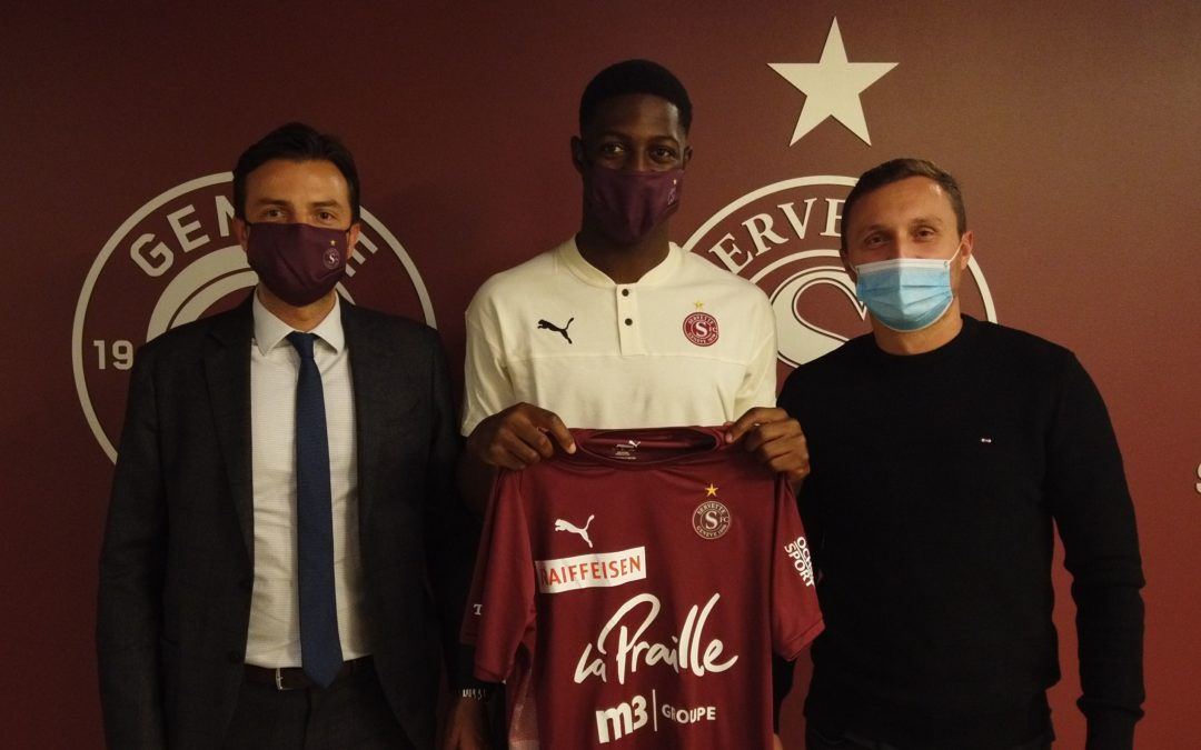 Roggerio Nyakossi : La pépite suisse d'origine togolaise passe pro au Servette FC