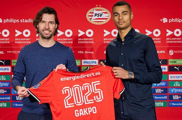 PSV Eindhoven : Un nouveau contrat pour Cody Gakpo, le Néerlando-togolais
