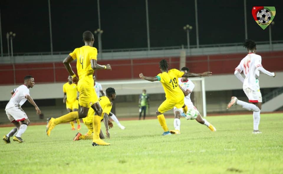 Préparatifs  CHAN :  défaite du Togo en amical