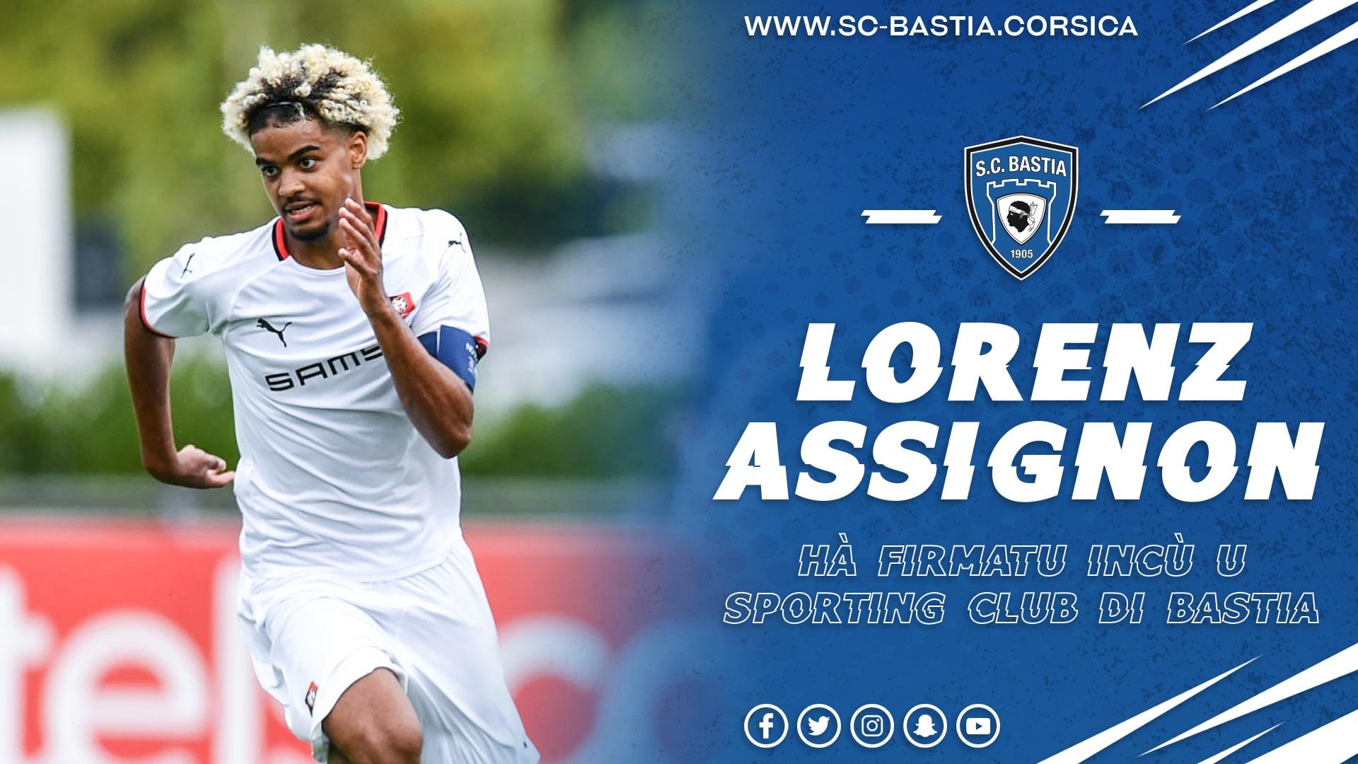 Mercato: Lorenzo Assignon prêté à Bastia