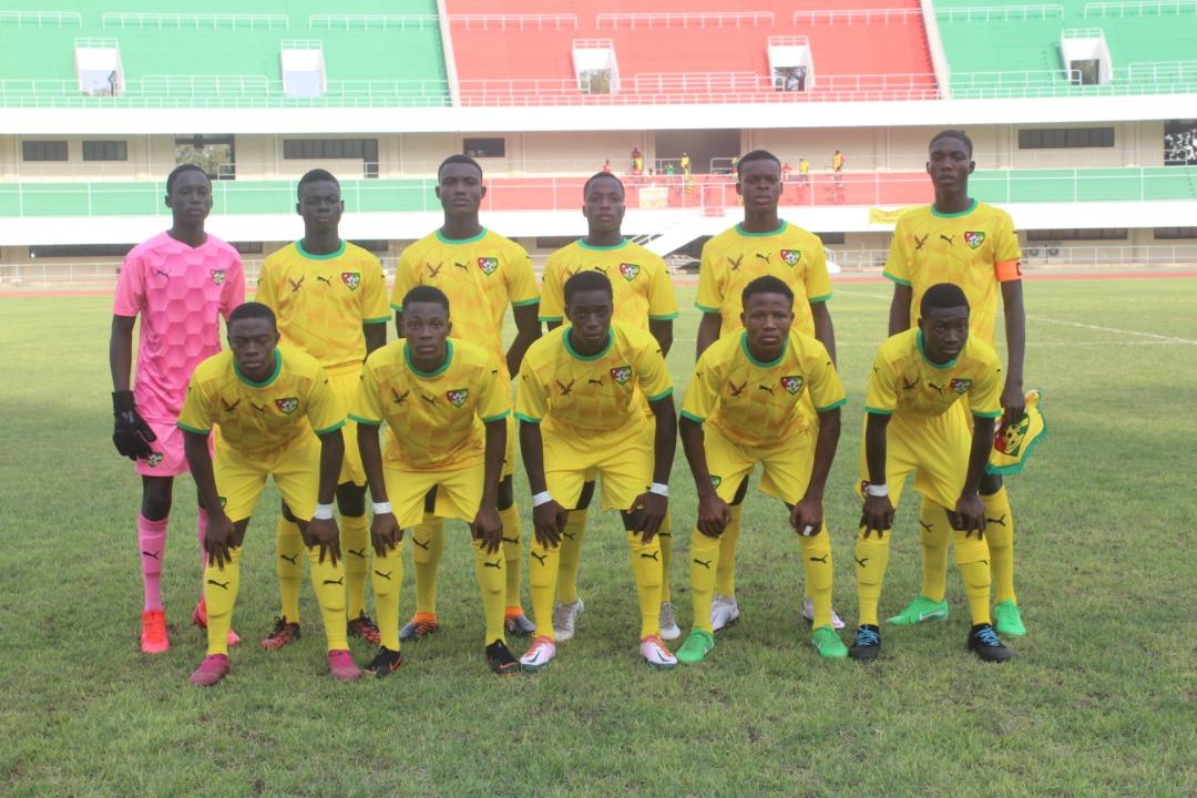UFOA B U17: le Togo en route vers les demi finales