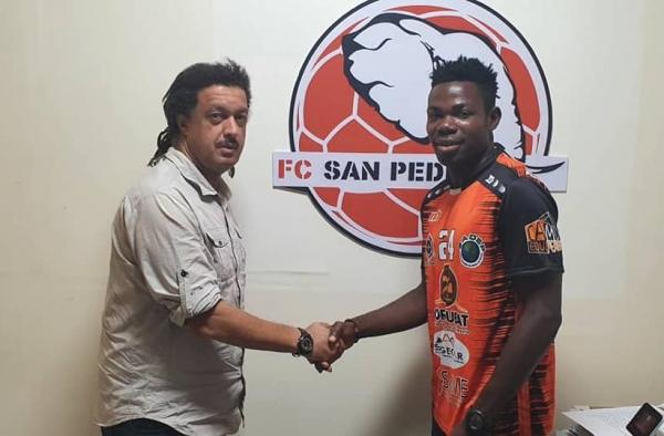 Transfert: Moise Adjahli s'engage avec le FC San pedro