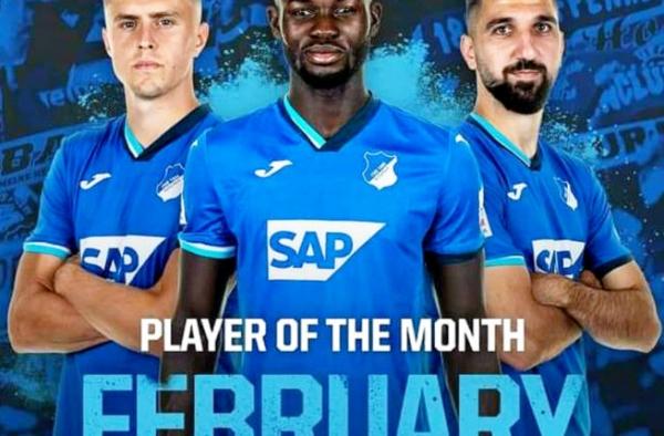 Hoffenheim: Le Togolais Ihlas Bebou décroche un prix