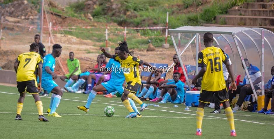D1/ J11 : l'ASCK qualifiée pour les playoffs , Ifodje se repositionne et  le chassé-croisé en tête au Sud