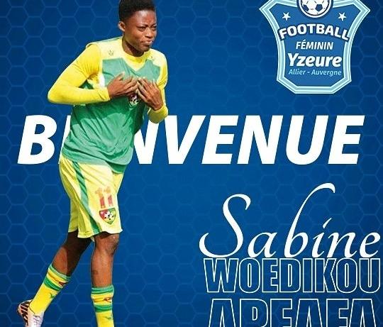 Mafille Woedikou rejoint un club de D2 Féminine