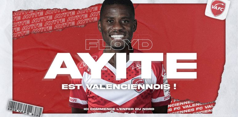 Mercato: Floyd Ayité signe à Valenciennes!
